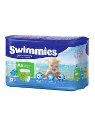 <b>Трусики</b> детские для <b>плавания Swimmies</b> X-Small 4-9 кг 13 шт ...