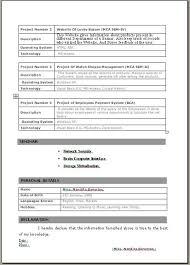 Resume Headline For Fresher Mca