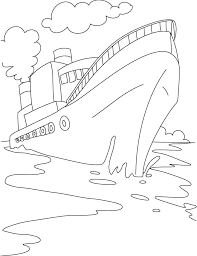 Disney Cruise Ship Coloring Pages Page Wisekidsinfo