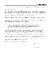 Marketing Intern Cover Letter – Gige