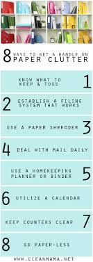 paper archives clean mama 8 ways to get a handle on paper clutter for good via clean mama