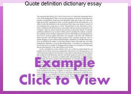 Quote Definition Amazing Quote Definition Dictionary Essay Homework Academic Service