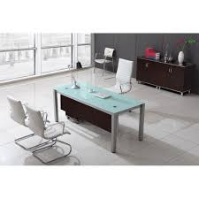 top perfect white glass office desk sling series white glass desks with optional l desk cd sling