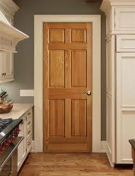 our new home has oak trim with matching 6 panel doors throughout trying