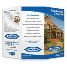 brochure brochure pest control brochures