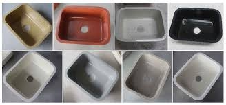 custom size kitchen sink in singapore solid surface portable kitchen sink