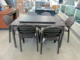 patio table round 60 patio table for 6 image 1 new with chairs leaf 60 inch