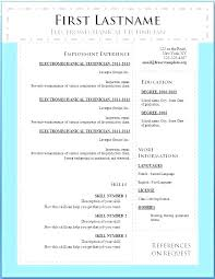 Resume Templates Word 2003 Extraordinary Resume Template Word Sample Format Download In Ms Full Image For