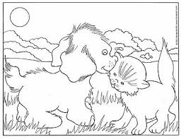 Small Picture Download Coloring Pages Dogs And Cats Ziho Coloring