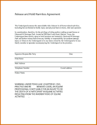 Hold Harmless Agreement | Themindsetmaven