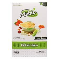 Bột ăn dặm Mabu 900g- giàu selen & bột mầm rau giàu khoáng