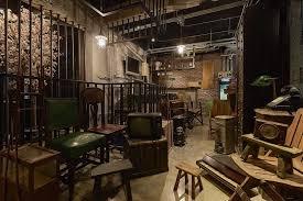 retro office. wo jie interior decoration retro office 4