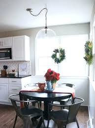 swag chandelier over dining table immense nice futures decorating ideas 3 kitchen