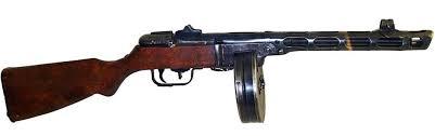 Оружие мирного времени история создания пистолета Макарова  Пистолет пулемёт Шпагина ППШ 41