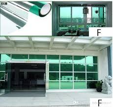 g5117658 one way glass window stickers glass silver mirror one way insulation