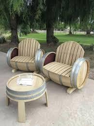 wine barrel furniture wine barrel furniture by balk en plank wine barrel stave furniture plans