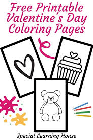 Add a little color to valentine's day with our free coloring pages—for kids and adults! Free Printable Valentine S Day Coloring Pages Special Learning House