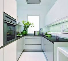 splendid kitchen furniture design ideas. Stunning Galley Kitchens Designs For Small : Splendid Bright And White U Shape Top Table Kitchen Furniture Design Ideas E