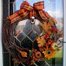 Fall Wreath Diy Fall Wreath Craft O Maniac