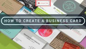 Buisness Card Online How To Make A Business Card Online Logaster