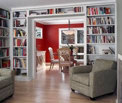 home office library ideas built home library