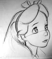 Alice Nel Paese Delle Meraviglie Disney Disney Schizzi Disegni