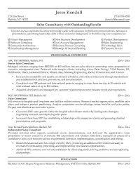 Sales Consultant Resume Sample Sales Consultant Resume Samples