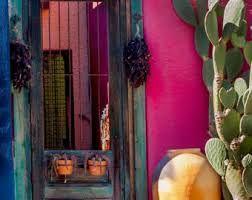 Small Picture Art print photo art Mexican home decor green pink