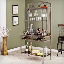 Kitchens With Wine Racks Ideas Wrought Iron Bakers Rack For Inspiring Best Material Of