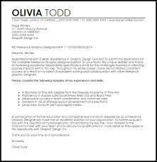 Designers Cover Letter Freelance Graphic Designer Cover Letter Sample Cover Letter
