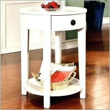 round coffee table and end tables small white round side table side tables round white side