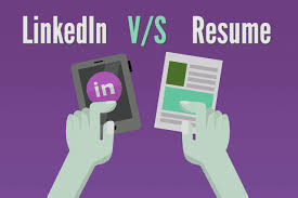 Is Linkedin Profile Going To Replace Resumes Eva Lee Medium
