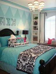 blue bedroom decorating ideas for teenage girls. Magnificent Light Blue Teenage Girl Bedroom Decorating Ideas With Black Wooden Bed Frame Using Cover And White Floral Blanket Also For Girls I
