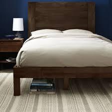 west elm king bed frame. Unique Frame Boerum Bed Frame  Caf Inside West Elm King E