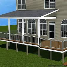 covered deck ideas. Outdoor Covered Deck Ideas When Covering Your Porch Or There Are Three Typical Roof Designs S