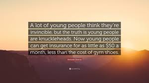 mice quote a lot of young people think they re