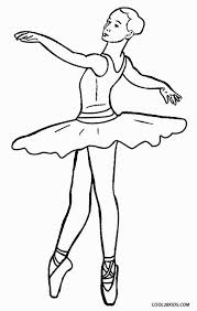 Printable Ballet Coloring Pages For Kids Cool2bkids Colorbook