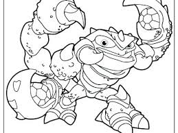 Skylander Coloring Page Coloring Coloring Pages Free Of Printable