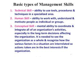 types of management skills management definition nature importance and functions of