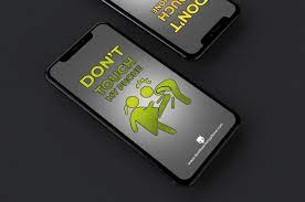 Warning Don't Touch My Phone