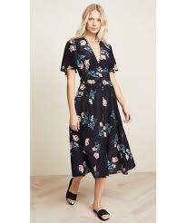 Nicholas(-)の「Nicholas Piper Floral Button Midi Dress ...
