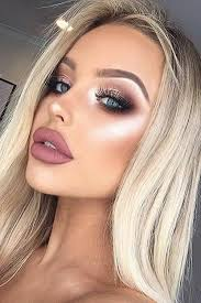 makeup beauty and lips image