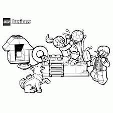 Lego Juniors Kleurplaten Printen Leuk Voor Kids