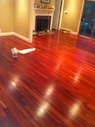 bloodwood clear unfinished flooring