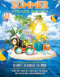 Beach Flyer 11 Summer Party Flyers Psd Ai Vector Eps Free Premium Templates