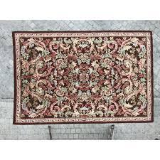 vintage french aubusson rug vintage designer furniture