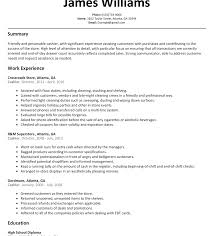 Examples Of Cashier Resumes Best of Grocery Store Cashier Resume Sample Wonderful For Job With No