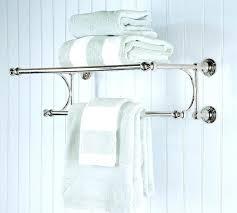 towel bar with towel. Plain Towel Towel Bar For Bathroom Wall Mounted Rack Rail Holder  Nickel Spa   With Towel Bar