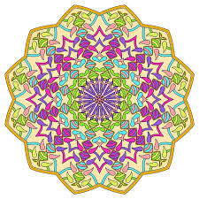 Small Picture Mandalas to Color Mandala Coloring Pages for Kids Adults
