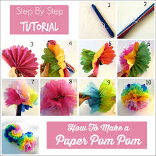 How To Make Tissue Paper Balls Decorations Awesome 32 Tissue Paper Pom Poms Guide Patterns